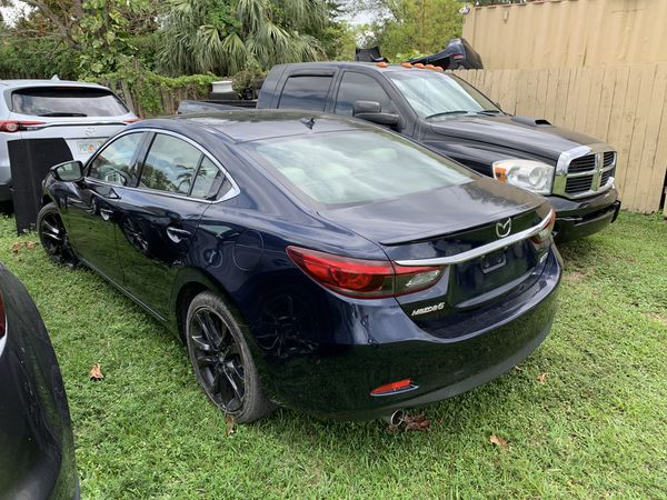 2016 Mazda 6 grand touring for parts