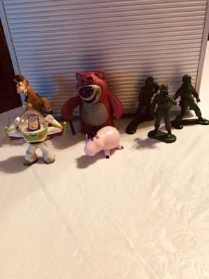 Toy Story figures for the movies 1,2 & 3 (3) Burger King, i think 🤔 the others are from 2 and 3 for Sale in PA, US