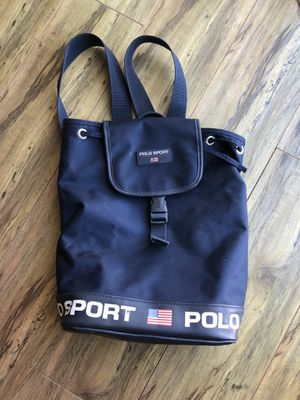 Vintage Polo Sport Ralph Lauren Backpack 🎒 for Sale in Rialto, CA