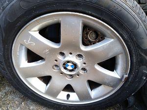 "Set 16"" BMW 3 series wheels rims good tires for Sale in Leesburg, FL"