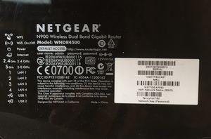 Netgear N900 WNDR4500-100 dual band gigabit WiFi router for Sale in Bonney Lake, WA