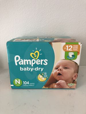 Diapers Pampers Newborn size for Sale in Anaheim, CA