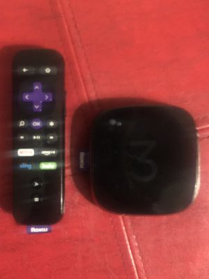 Roku 3 Streaming Media for Sale for sale  New York, NY