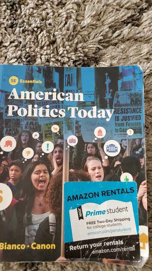 American Politics- College textbook for Sale in Castro Valley, CA