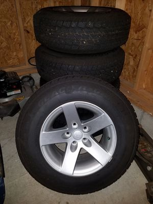 Jeep Wrangler Tire Set for Sale in Cleveland, OH