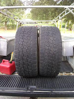 (2) 35x12.50r22 Nitto G2 tires 35 inch 22 A/T 35x12.50x22 for Sale in Port St. Lucie, FL