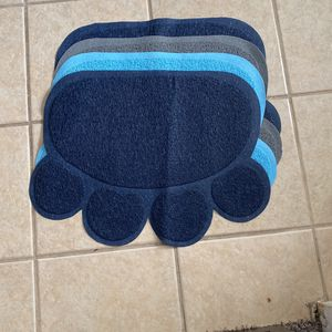 Cat Litter Catcher Mat , Dark Blue , Baby Blue , Grey , for Sale in Fresno, CA