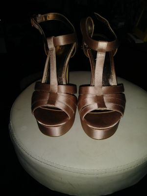 Michael Kors Rose colored Heels for Sale in Dallas, TX