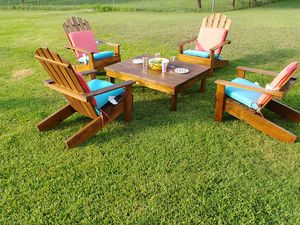 Wooden Outdoor Adirondacks Patio Furniture for Sale in Austin, TX