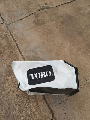 Toro lawn mower collection bag for Sale in Arlington, TX