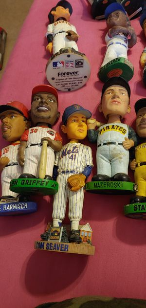 Major league and minor league bobbleheads for Sale in Bloomfield, IA