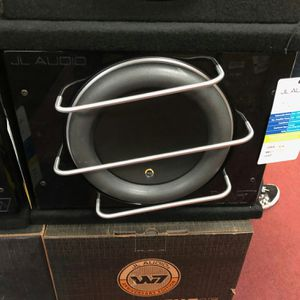 Jl audio 13w7ae pro wedge on sale today message us for the lowest prices in LA for Sale in Long Beach, CA