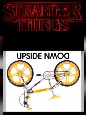 Stranger Things X Mongoose Motomag BMX Bike for Sale in Phoenix, AZ