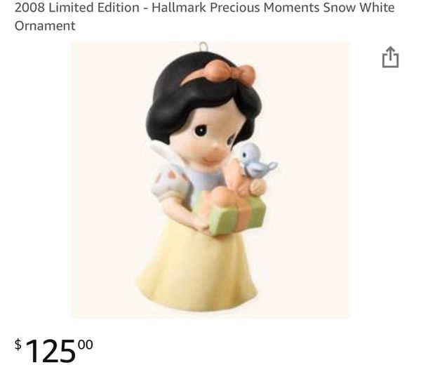 Limited addition Precious moments snow white