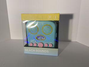 SunnyLife Beach Sounds Seafoam Wireless Bluetooth Speaker Beach. Never used for Sale in Sunrise, FL
