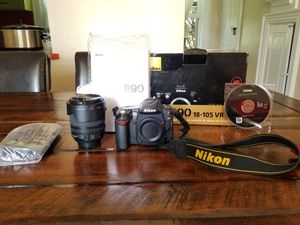 NIKON- Professional Camera for Sale in Seattle, WA