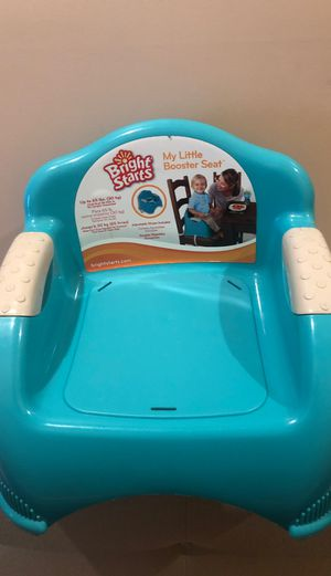 Bright Starts Booster Seat blue my little booster seat for Sale in Staten Island, NY