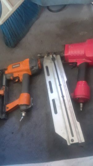 Porter cable nail gun ,Rigid brad nailer for Sale in Palmdale, CA