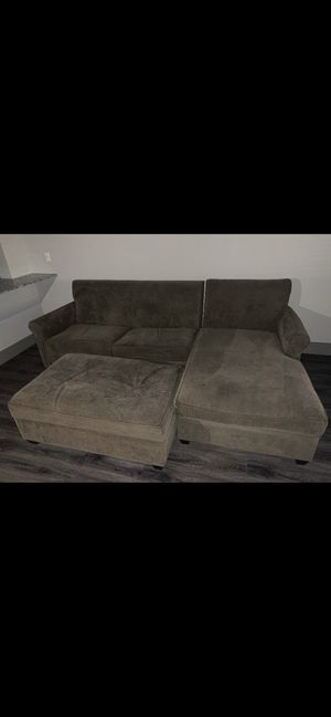 Creight and barrel sectional couch for Sale in Carrollton, TX