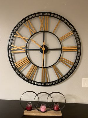 Oversize wall metal clock !!! New for Sale in Vancouver, WA