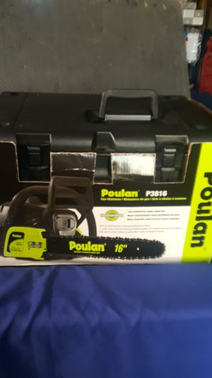 "Poulan P3816 16"" chainsaw for Sale in San Diego, CA"