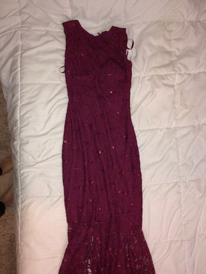 burgandy dress for Sale in Brea, CA