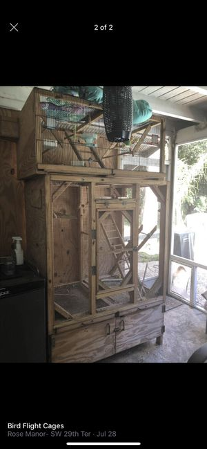 Wooden cage for sale for Sale in Lauderdale Lakes, FL