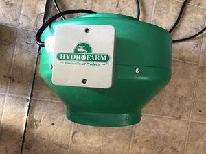 """Hydro Farm Active Air 8"""" Inline Duct Fan, 720 CFM for Sale in Los Angeles, CA"""