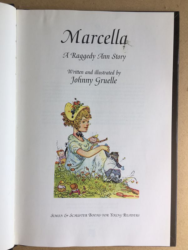 Vintage Raggedy Ann book from 1929