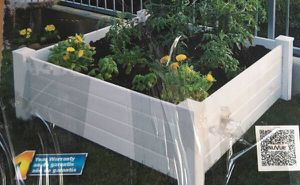 New NuVue 4ft Square Raised Garden Bed for Sale in Fresno, CA