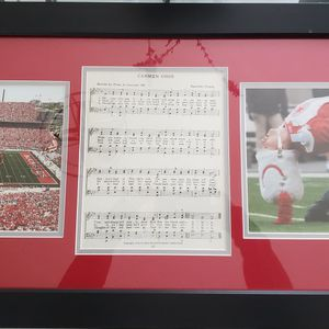 OHIO STATE FRAMED PHOTO 17x35 for Sale in St. Petersburg, FL