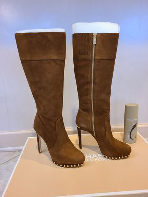 Michael Kors Suede Boots - size 7 for Sale in Robbinsville Township, NJ