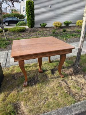 Antique oak table for Sale in Tumwater, WA