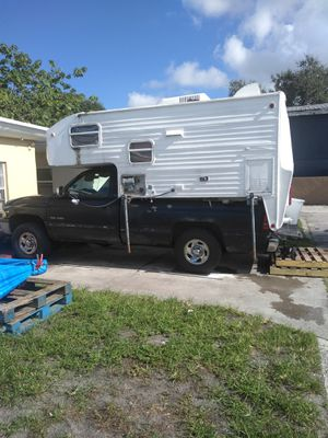 Camper on truck $3000 both for Sale in Pembroke Pines, FL