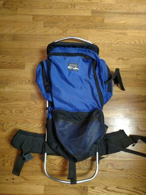 Vintage Jansport Hiking Backpack, External Frame, Blue for Sale in Chesterfield, MO