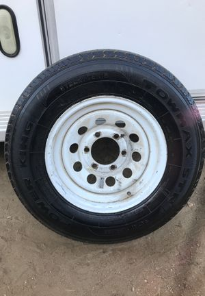 Trailer tire 10ply and rim 225/75-15 for Sale in Jurupa Valley, CA