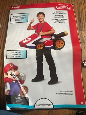3 d Mario cart Halloween costume for Sale in Nashua, NH