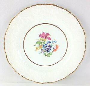 "Pope-Gosser China Rose Point Warranted Coin Gold Rimmed Salad Plate 8 1/4"" for Sale in Moreno Valley, CA"