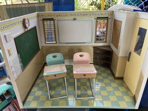 18' doll schoolhouse-sounds work for Sale in San Diego, CA