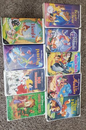 Disney VHS movies for Sale in Angier, NC