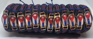 12 Red and Blue on Black Bands with Cuban Flag for Sale in Pembroke Pines, FL