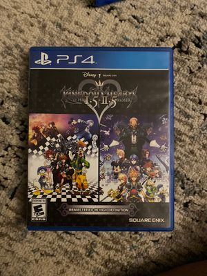 Kingdom Hearts I.5/II.5 for PS4 for Sale in Alameda, CA