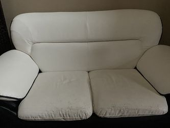 White Leather Couches for Sale in Salem,  OR