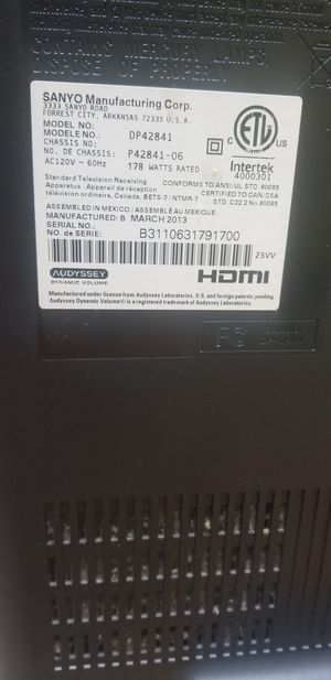 Sanyo Tv for Sale in Arlington, TX