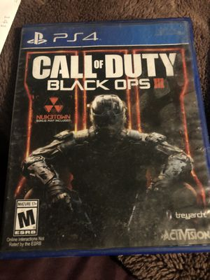 Call Of Duty Black ops 3 ps4 for Sale in Hesperia, CA