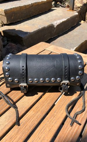 Harley Davidson Leather Front Fork Bag for Sale in Payson, AZ