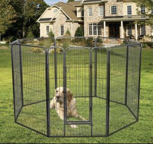 Heavy Duty Folding Pet Playpen Dog Exercise Fence Outdoor Indoor for Sale in Riverside, CA