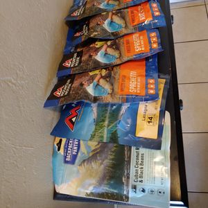 Mountain house backpacking Meals for Sale in Spring Valley, CA