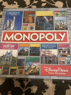 Monopoly (Disney Parks Theme Park Edition) for Sale in Turlock,  CA