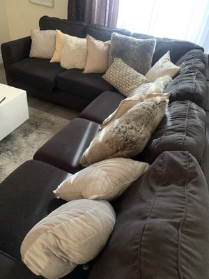 Grey Sectional for Sale in Pompano Beach, FL